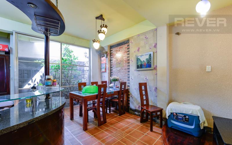 Phòng ăn tầng trệt Nhà phố 3 phòng ngủ mặt tiền Nguyễn Cửu Vân Quận Bình Thạnh
