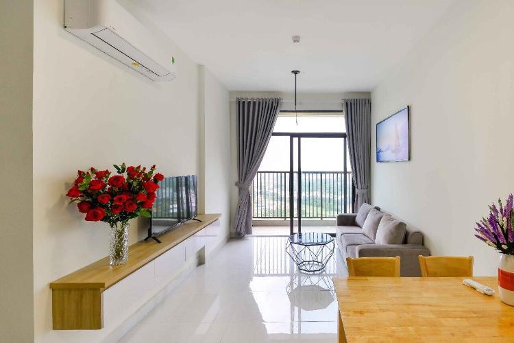 Phòng khách Jamila Khang Điền, Quận 9 Căn hộ Jamila Khang Điền tầng thấp, ban công hướng Đông Nam.