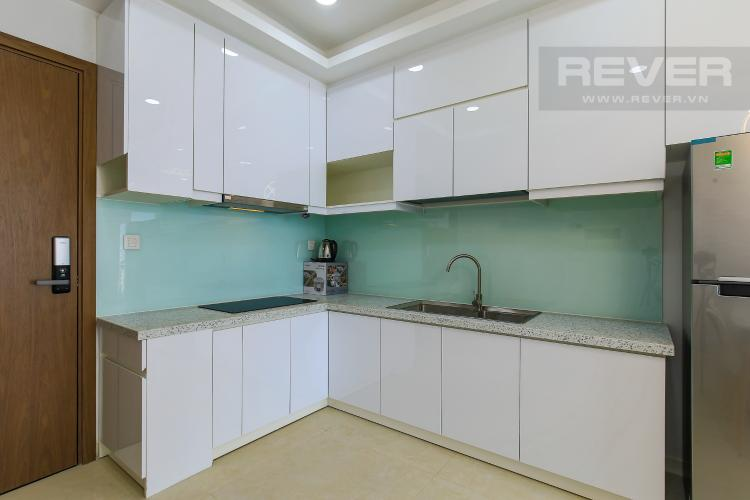 Phòng Bếp Cho thuê căn hộ Masteri Millennium tầng trung, 2PN, đầy đủ nội thất