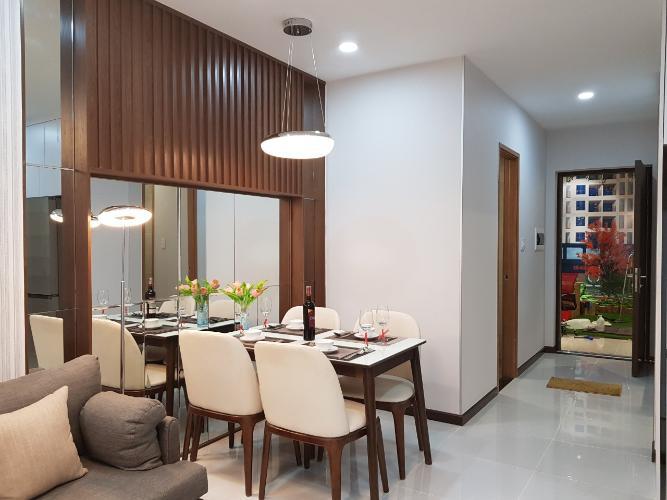 Nhà mẫu căn hộ Bcons Garden , Dĩ An Căn hộ Bcons Suối Tiên tầng 4 view thoáng mát, nội thất cơ bản.