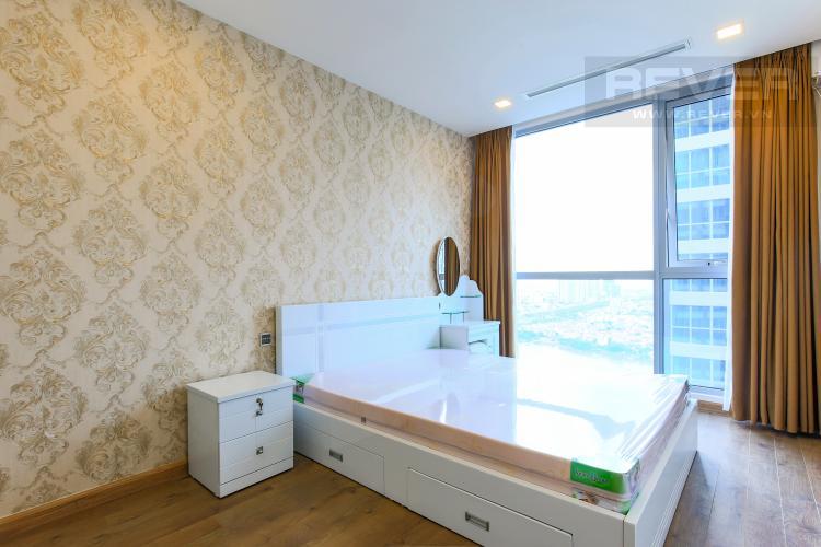 Phòng ngủ 2 Căn hộ Vinhomes Central Park 2 phòng ngủ, tầng cao P6, đầy đủ nội thất