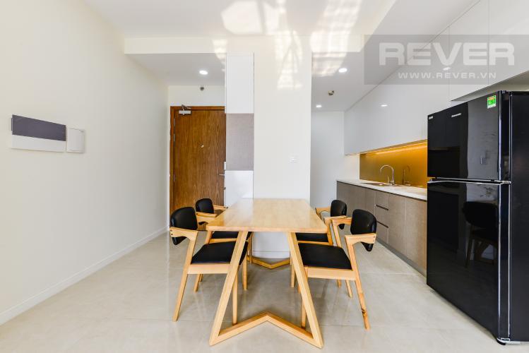 Bàn ăn Cho thuê căn hộ Masteri Millennium 2PN nội thất đầy đủ, tiện ích đa dạng
