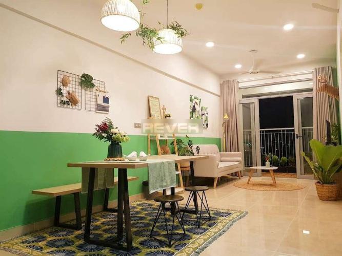 Phòng khách căn hộ Lux Garden, Quận 7 Căn hộ Lux Garden thiết kế hiện đại sang trọng, đầy đủ nội thất.