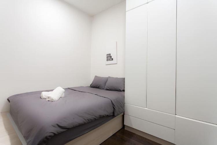 Phòng ngủ căn hộ The Tresor Cho Thuê Căn hộ The Tresor, diện tích 65m2, bao gồm 2 phòng ngủ, đầy đủ nội thất