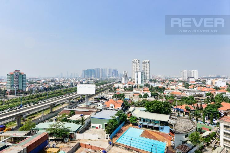 View Căn hộ Masteri Thảo Điền 2 phòng ngủ tầng trung T1 hướng Tây Nam