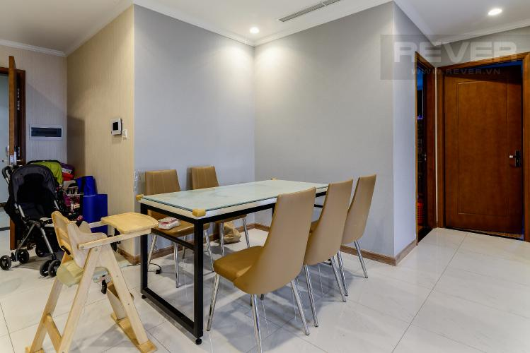 Phòng Ăn Căn hộ Vinhomes Central Park 3 phòng ngủ tầng cao C3 nội thất đầy đủ