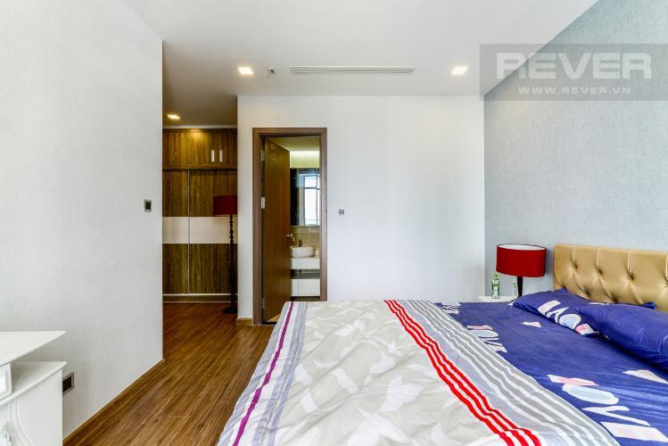 Phòng Ngủ 1 Căn hộ Vinhomes Central Park tầng trung, tháp P7, 3 phòng ngủ, view sông