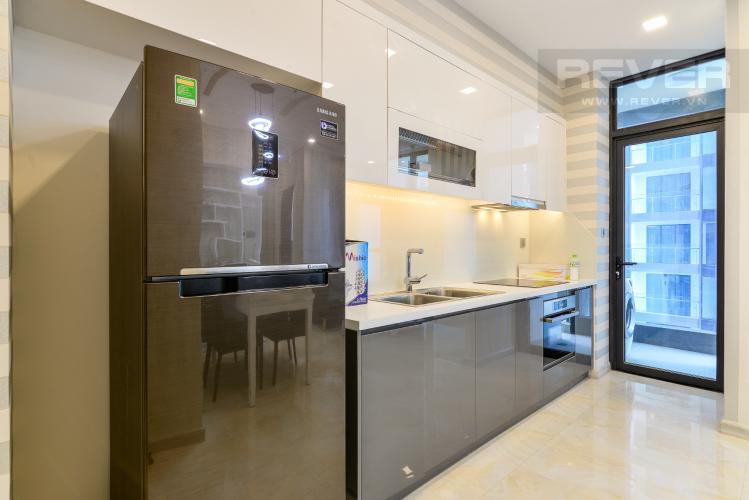 Nhà Bếp Căn hộ Vinhomes Golden River tầng cao, 2PN, bàn giao đầy đủ nội thất