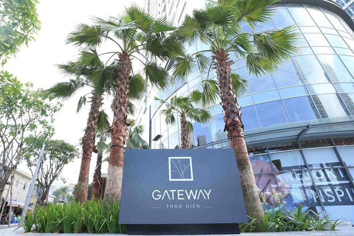 Dự án Gateway Thảo Điền Căn hộ Studio Gateway Thảo Điền tầng trung, ban công thoáng mát.