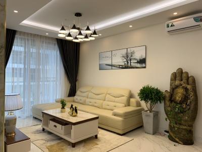Căn hộ Phú Mỹ Hưng Midtown nội thất cơ bản, view nội khu mat mẻ.