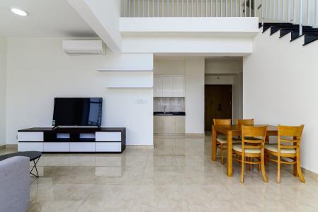 Căn duplex Lux Garden 3PN, nội thất đầy đủ