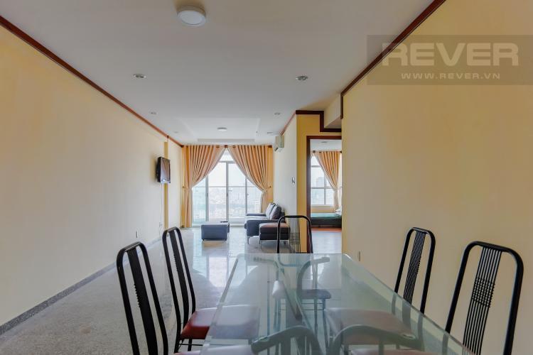 Phòng Ăn Căn hộ Hoàng Anh Thanh Bình 3 phòng ngủ tầng cao tháp B view toàn cảnh