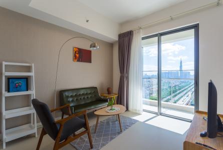 Cho thuê căn hộ Madison Gateway Thảo Điền tầng cao, 1PN, đầy đủ nội thất