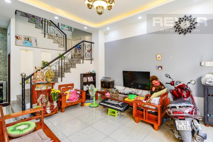 Phòng khách Nhà phố 4 phòng ngủ đường Nơ Trang Long Bình Thạnh diện tích 54m2