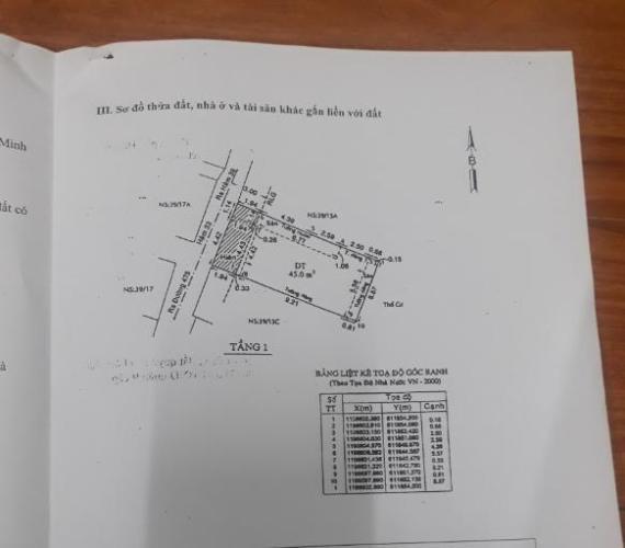 Bản vẽ nhà phố đường số 475, Quận 9 Nhà phố hẻm xe máy quay đầu, diện tích 57.3m2.