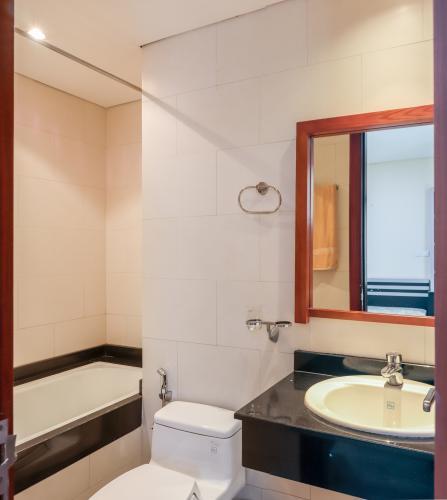 Phòng Tắm 1 Cho thuê căn hộ The Lancaster 2PN, tầng thấp, đầy đủ nội thất, hướng Bắc