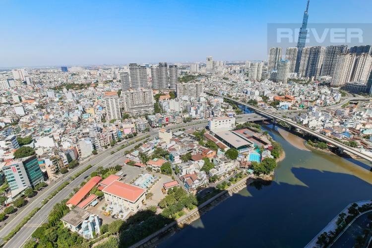 View Căn hộ Vinhomes Golden River tầng cao, 2PN, nội thất cơ bản