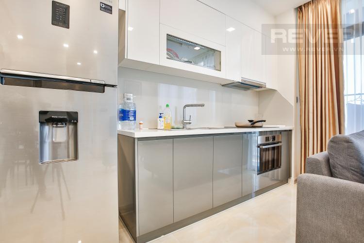 Bếp Officetel Vinhomes Golden River 2 phòng ngủ tầng thấp Aqua 3