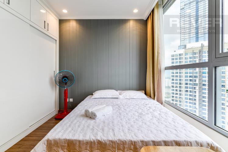 Phòng Ngủ 2 Căn hộ Vinhomes Central Park 2 phòng ngủ tầng cao C3 hướng Đông