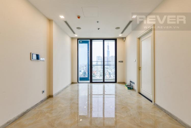 Phòng khách Căn hộ Vinhomes Golden River 2 phòng ngủ tầng trung A4 nhà trống