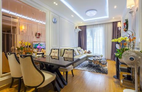 Bán và cho thuê căn hộ Lexington Residence tầng cao, 2PN, nội thất đầy đủ
