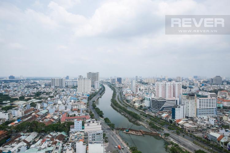 View Căn hộ RiverGate Residence 2 phòng ngủ tầng cao tháp A view sông