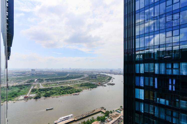 View Căn hộ Vinhomes Golden River tầng cao, 2PN 1WC, nội thất đầy đủ, view sông