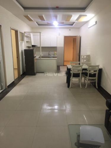 Phòng khách căn hộ Tân Phước Plaza, Quận 11 Căn hộ Tân Phước Plaza ban công hướng Tây, đầy đủ tiện nghi.