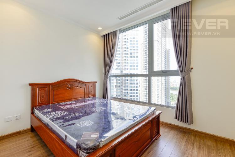Phòng ngủ 3 Căn hộ Vinhomes Central Park 3 phòng ngủ tầng cao C3 đầy đủ nội thất