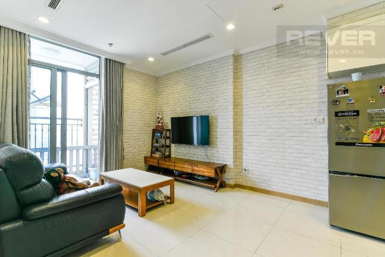 Bán hoặc cho thuê căn hộ Vinhomes Central Park 1PN, tầng cao, đầy đủ nội thất, view nội khu và thành phố