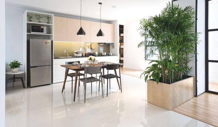 Bếp căn hộ Citi Esto Bán căn hộ Citi Esto thuộc tầng trung, 3 phòng ngủ, diện tích 100.6m2, chưa bàn giao.