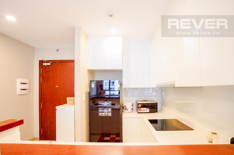 Phòng Bếp Cho thuê căn hộ The Gold View 2PN, tháp B, nội thất cơ bản, view rạch Bến Nghé