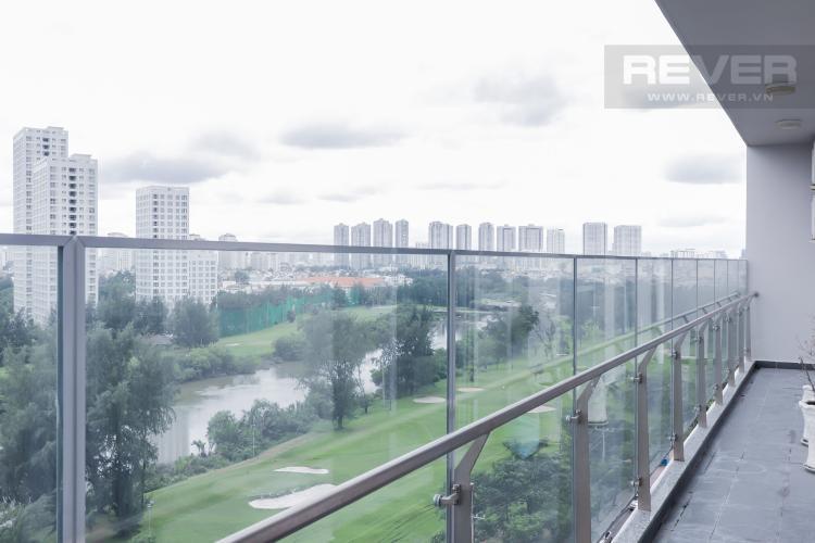 View Ban Công Cho thuê căn hộ Scenic Valley 3PN, tầng thấp, block C, đầy đủ nội thất, view sông thoáng đãng