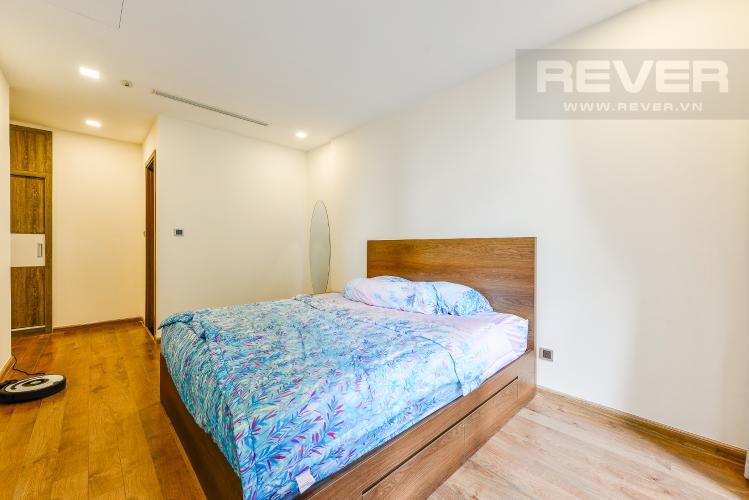 Phòng ngủ 1 Căn hộ Vinhomes Central Park 2 phòng ngủ tầng trung P3 hướng Tây
