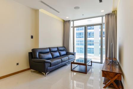 Căn hộ Vinhomes Central Park 3 phòng ngủ tầng cao P6 đầy đủ nội thất