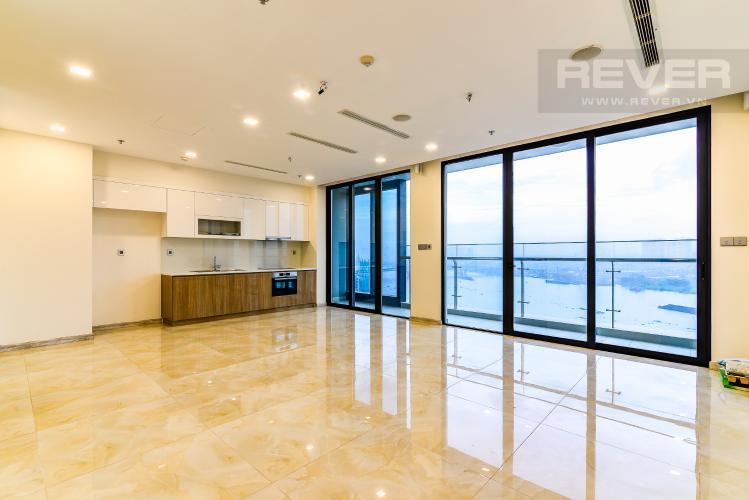 Phòng Khách Căn hộ Vinhomes Golden River 3 phòng ngủ tầng trung A4 view sông
