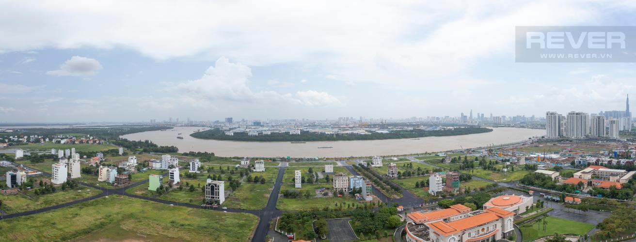 View Pano Căn hộ Vista Verde tầng cao, tháp Orchid, 3 phòng ngủ, view sông trực diện
