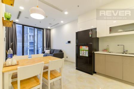 Bán căn hộ Vinhomes Golden River 1 phòng ngủ, tháp The Aqua 2, đầy đủ nội thất, view Landmark 81