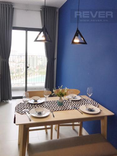 Bàn Ăn Căn góc Masteri Thảo Điền 2 phòng ngủ tầng trung T3 ful nội thất