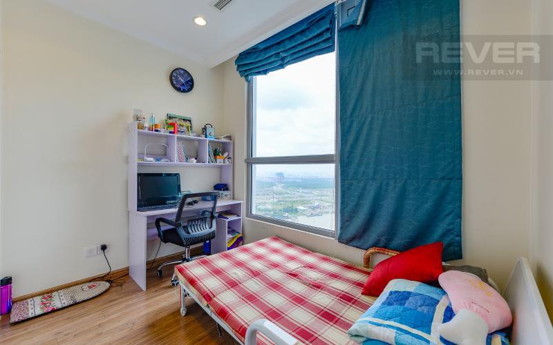 phòng ngủ 3 Căn góc Vinhomes Central Park tầng cao C2 full nội thất, view sông