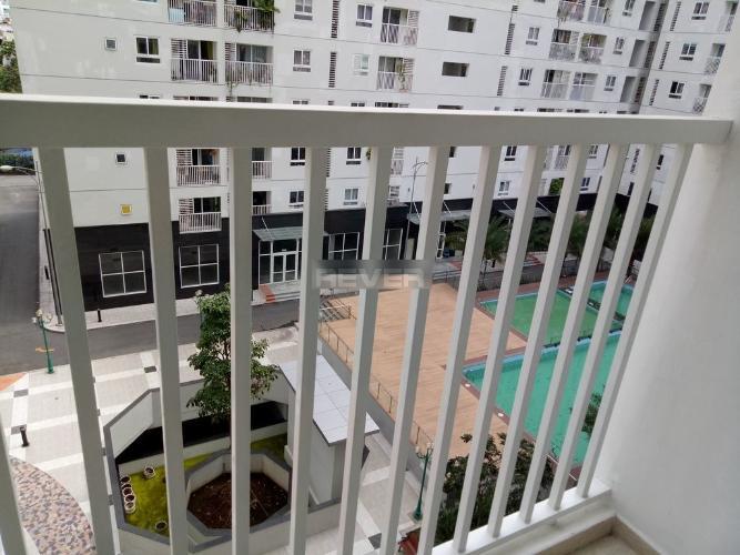 Ban công căn hộ Tara Residence, Quận 8 Căn hộ chung cư Tara Residence hướng Tây Nam, view nội khu thoáng mát.