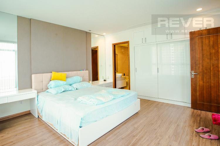 Phòng Ngủ 1 Bán căn hộ Vinhomes Central Park hướng Tây Bắc, 103m2 2PN 2WC, nội thất cao cấp, view thành phố