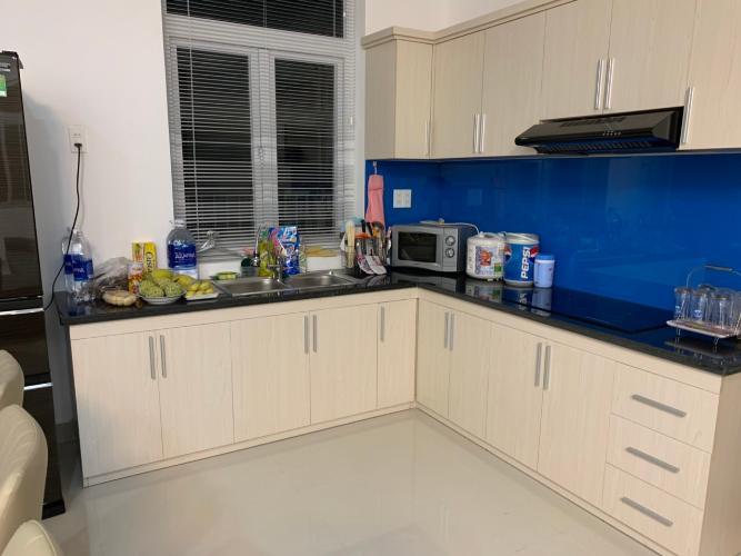 phòng bếp nhà phố park riverside Nhà phố Park Riverside Tân Cảng đầy đủ nội thất, hiện đại.