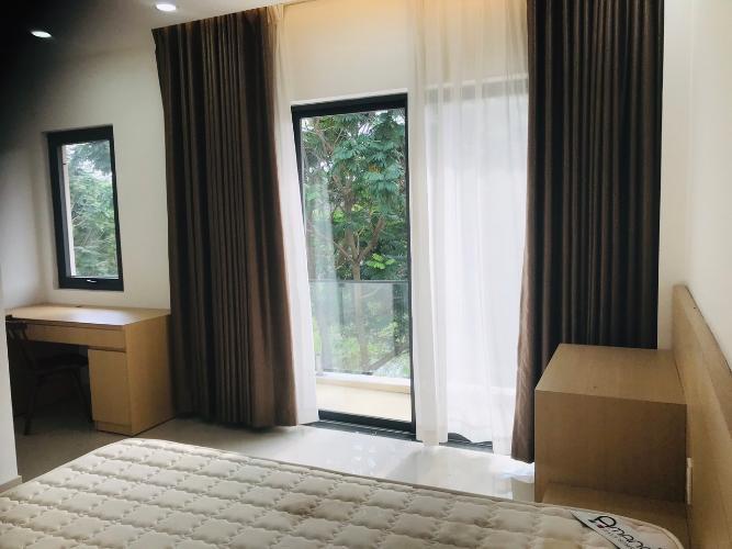 phòng ngủ nhà phố dự án river park Nhà phố dự án River Park diện tích 75m2, hướng Đông Bắc.