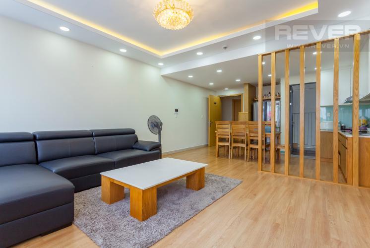 Không gian căn hộ Căn hộ Masteri Thảo Điền tầng trung hướng Tây tháp T1