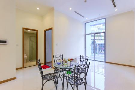 Officetel 1 phòng ngủ Vinhomes Central Park tầng 1 Landmark 3