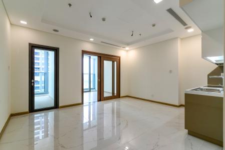 Bán căn hộ Vinhomes Central Park 1PN, tháp Landmark 81, nội thất cơ bản, view Xa lộ Hà Nội