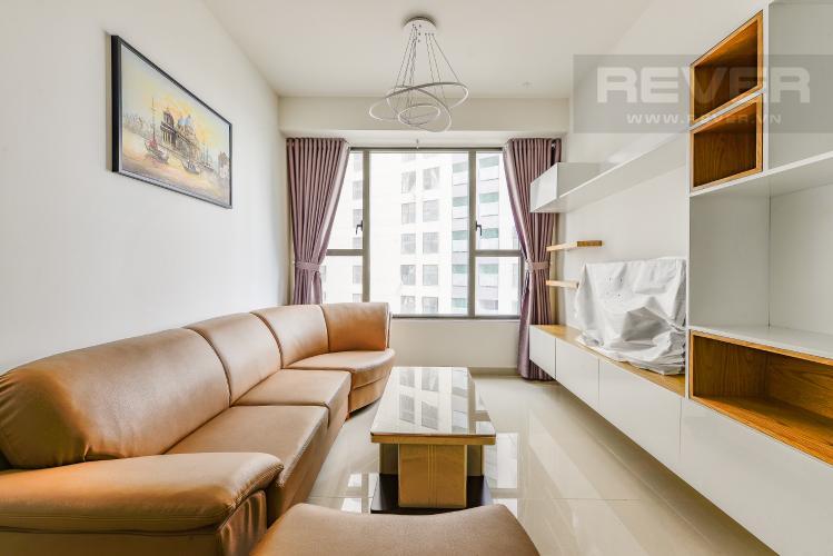 Phòng khách Căn hộ The Tresor tầng trung, tháp TS1, 2 phòng ngủ, full nội thất