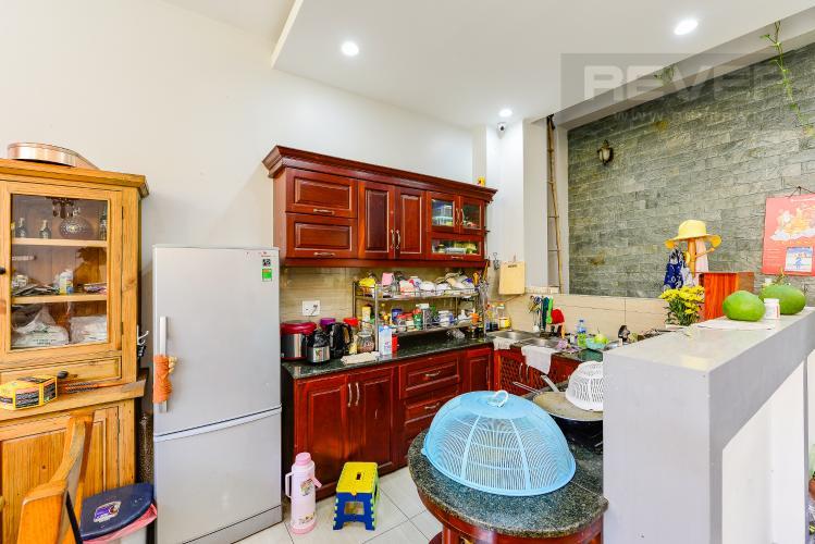 Bếp Nhà phố 4 phòng ngủ đường Nơ Trang Long Bình Thạnh diện tích 54m2