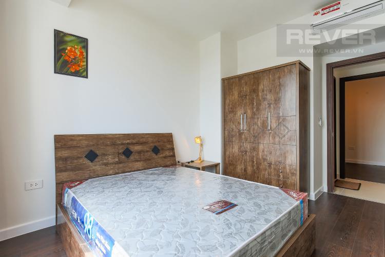 Phòng Ngủ 1 Căn hộ The Tresor 2 phòng ngủ tầng cao TS1 nội thất đầy đủ